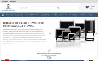 stempel-fabrik Webseiten Screenshot