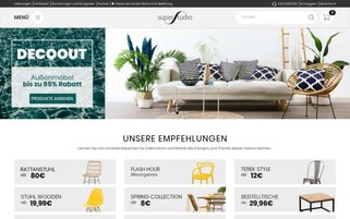 Superestudio Webseiten Screenshot