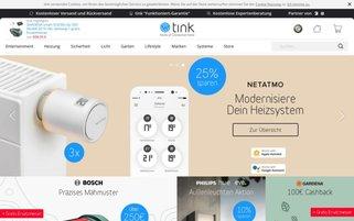 tink Webseiten Screenshot