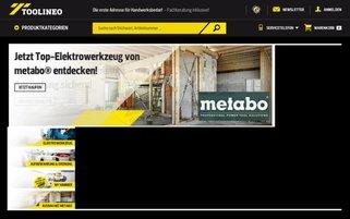 Toolineo Webseiten Screenshot