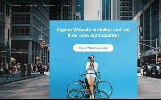 Wix Webseiten Screenshot