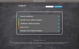 wrappz Webseiten Screenshot