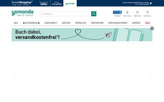 yomonda Webseiten Screenshot