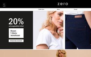 Zero Webseiten Screenshot
