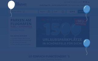 Dein Stellplatz Webseiten Screenshot