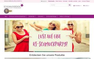 KT-Schmuckdesign Webseiten Screenshot