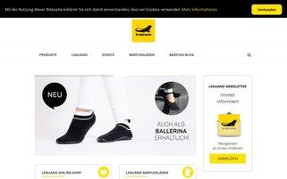 Leguano Webseiten Screenshot