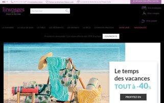 Linvosges Webseiten Screenshot