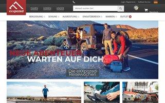 eXXpozed Webseiten Screenshot