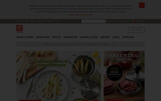 Zwilling Webseiten Screenshot