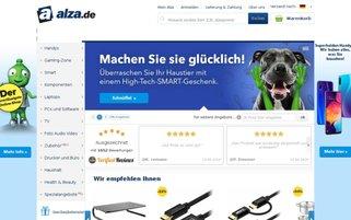 Alza Webseiten Screenshot