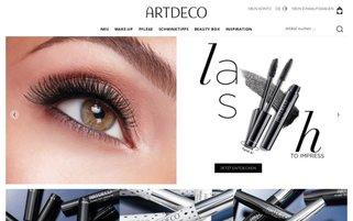 ARTDECO Webseiten Screenshot