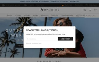 Brandfield Webseiten Screenshot
