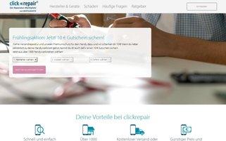 Clickrepair Webseiten Screenshot