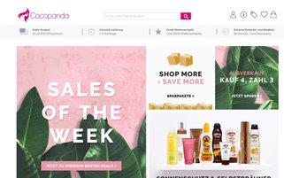 Cocopanda Webseiten Screenshot