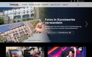 CyberLink Webseiten Screenshot