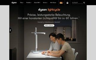 dyson Webseiten Screenshot