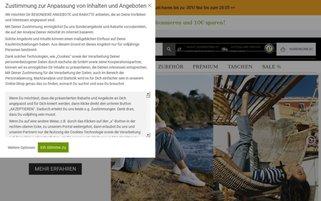 eschuhe Webseiten Screenshot