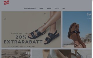 fitflop Webseiten Screenshot