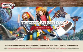 FORT FUN Webseiten Screenshot
