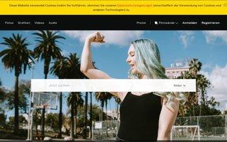 iStock Webseiten Screenshot