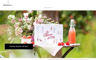 My Little Box Webseiten Screenshot
