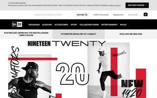New Era Webseiten Screenshot