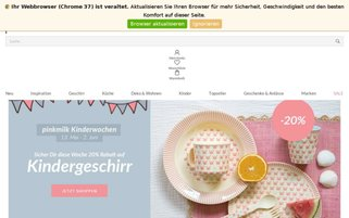 pinkmilk Webseiten Screenshot