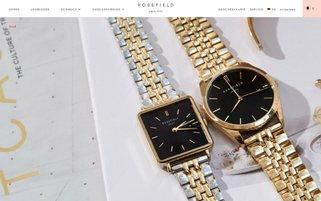 Rosefield Webseiten Screenshot