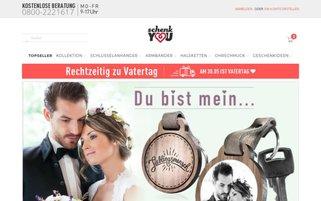 schenkYOU Webseiten Screenshot