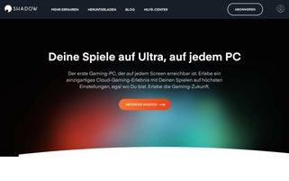 Shadow Webseiten Screenshot