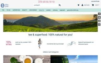 Shuyao Webseiten Screenshot