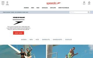 Speedo Webseiten Screenshot
