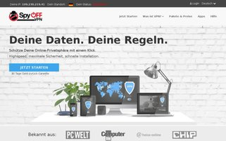SpyOFF Webseiten Screenshot