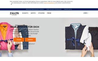 Zalon Webseiten Screenshot