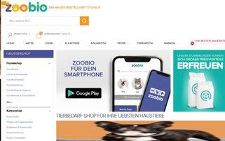 zoobio Webseiten Screenshot