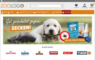 ZOOLOGO Webseiten Screenshot
