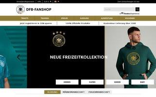 DFB-Fanshop Webseiten Screenshot