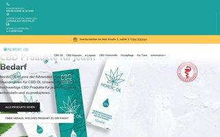 NordicOil Webseiten Screenshot