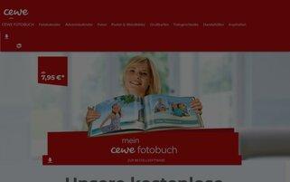 Cewe Webseiten Screenshot