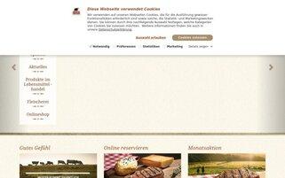 BLOCK HOUSE Webseiten Screenshot