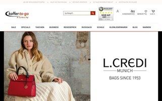 koffer-to-go Webseiten Screenshot