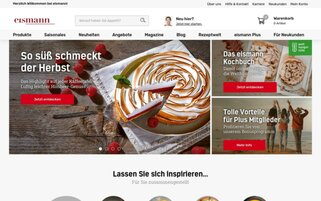 eismann Webseiten Screenshot