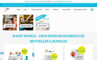 Shape World Webseiten Screenshot