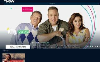 TVNOW Webseiten Screenshot