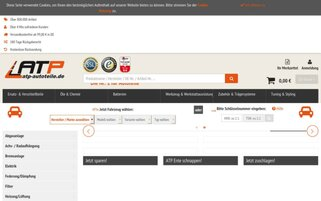 ATP Webseiten Screenshot