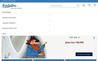 BadeDu Webseiten Screenshot