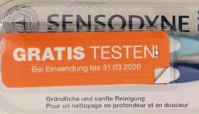 Sensodyne Sensitive Zahnbürsten Doppelpack