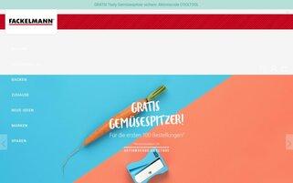 Fackelmann Webseiten Screenshot