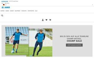 JAKO Webseiten Screenshot